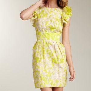 Jessica Simpson Ruffle Feather Dress