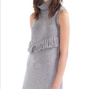 Nomad - Morgan Carper ALPINA grey knit tunic