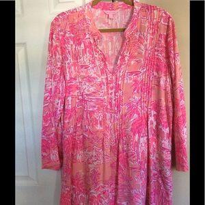 Lilly Pulitzer Sarasota Tunic Size Large