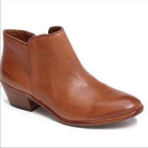 Sam Edelman Cognac Booties 7