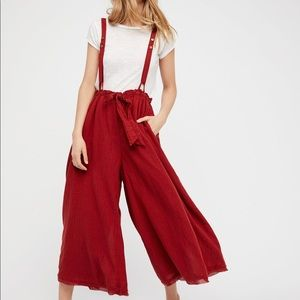 ISO Free People Hop to It Culottes S or XS Rust