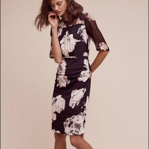 NWT Tracy Reese size 0 women's dress silk floral
