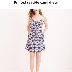 J.crew printed seaside cami dress
