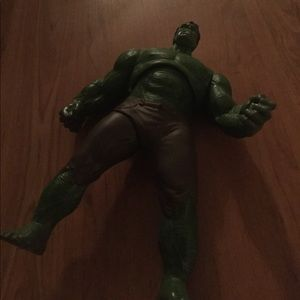 Other - Large talking hulk action figure