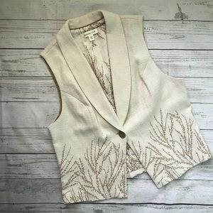 Fall Essential•••Embroidered Vest