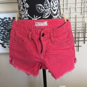 Free People Corduroy Shorts