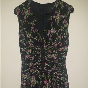 Jill Stuart dress with floral print