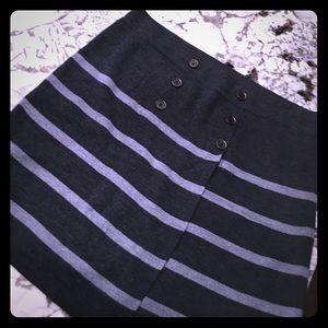Never worn stretchy LOFT knit Skirt, size XL