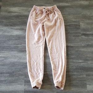 Nude Pink Brandy Melville Sweats