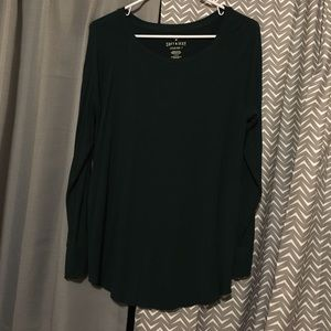 Dark Green Soft and Sexy Jegging Tee NWOT