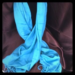 Charming Charlie teal wrap/scarf