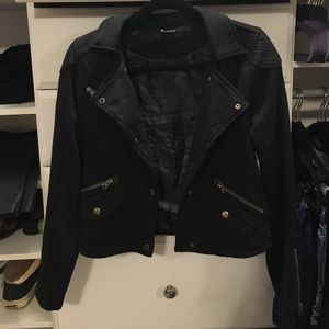 Sparkle & Fade Urban Outfitters moto jacket