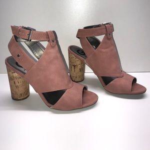 Guess mauve heels