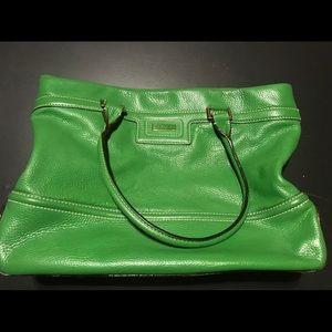 Green kate spade New York handbag