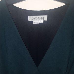 Kay unger work dress, missing belt