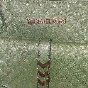 OLIVE GREEN Stylish Shoulder Bag