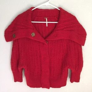 Women's Free People Sweater Shawl Extra Small