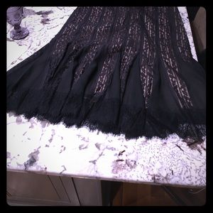 Gorgeous black lace skirt from LOFT, size 16
