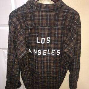 Brandy Melville / John Galt Los Angeles flannel