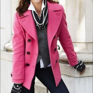 Merona Pea Coat Pink Size small women's