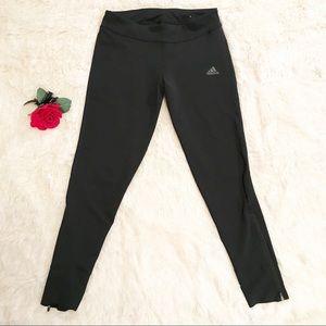 Adidas Climalite Black Leggings. Size Medium