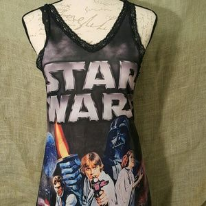 Star Wars Night Gown Dress Size Small