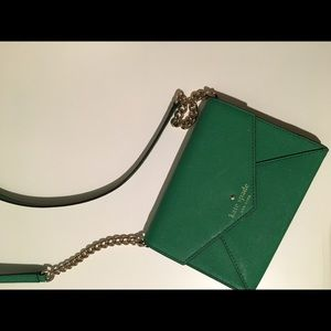 Kate Spade little green crossbody bag