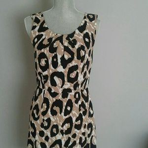 Banana Republic Animal Print Dress