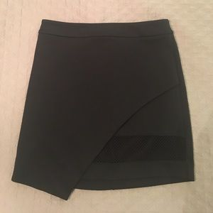 Express above-the-knee black skirt. Only worn once