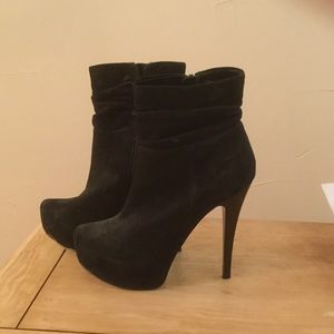 Black Aldo High Heel Booties