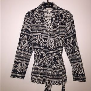 H&M Conscious Collection tribal woven jacket