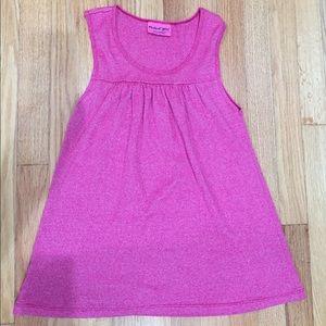 MICHAEL STARS Pink Shine Sleeveless Top #0198