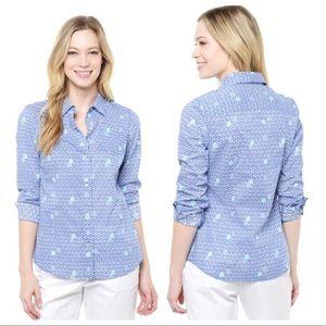 C24 Vineyard Vines  16 Batik Dot Button Down Shirt