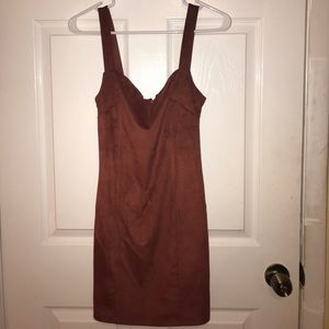 forever 21 velvet v neck dress