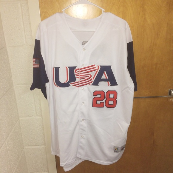 528dc501f Majestic Other - Buster Posey  28 Team USA Jersey
