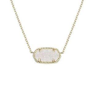 Kendra Scott white Pendant necklace