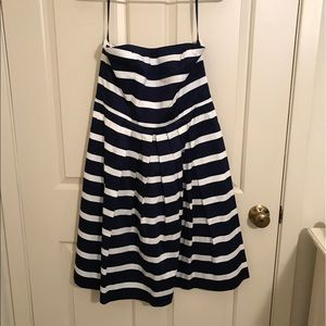 Strapless GAP Stripped Dress