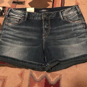 Pants - Silver Jeans Shorts 🤗