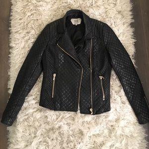 Zara Vegan Leather Moto Jacket 😍