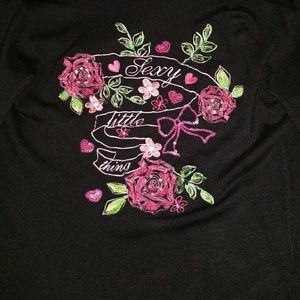 VICTORIA SECRET BLACK SWEATER SZ LARGE