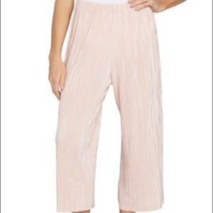 1. State pink culotte wide leg pant NWOT size M