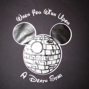 336526ea1 Gildan Shirts | Mickey Mouse Death Star Disney Star Wars Tee Shirt ...