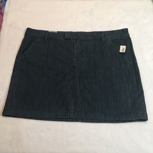 New Old Navy denim jean skirt size 18