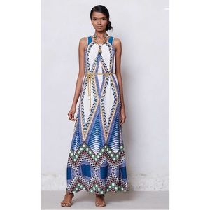 Anthropologie Patterned Maxi Dress