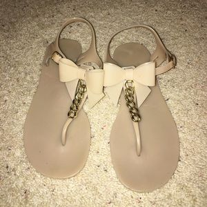 Kate Spade jelly bow sandals