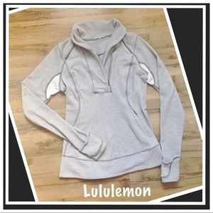 Lululemon  Think Fast Pullover  EUC