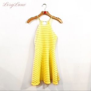 Charlotte Russe Yellow Flare Dress