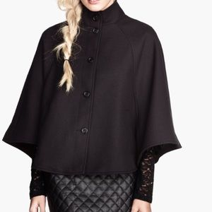 Black H&M cape, perfect for fall 🍁🍂🍁