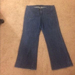 Gap high-waisted jeans