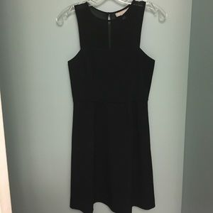 Banana Republic black dress -sheer panel top size0